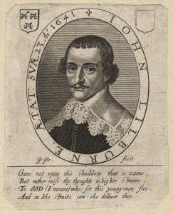 Porträtt av John Lilburne, 1641