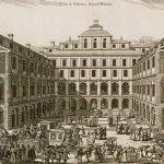 Södra stadshuset i Stockholm, där flera av gråkoltarna satt inspärrade.
