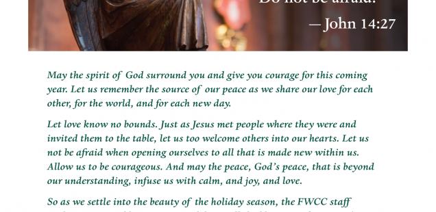 Julhälsning från FWCC